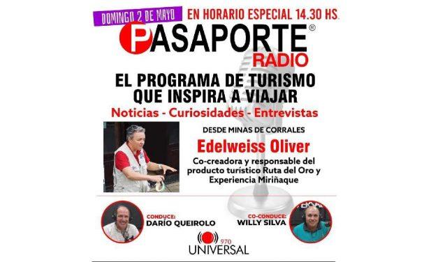 Bienvenidos al quinto programa de Pasaporte Radio – 2 de mayo de 2021