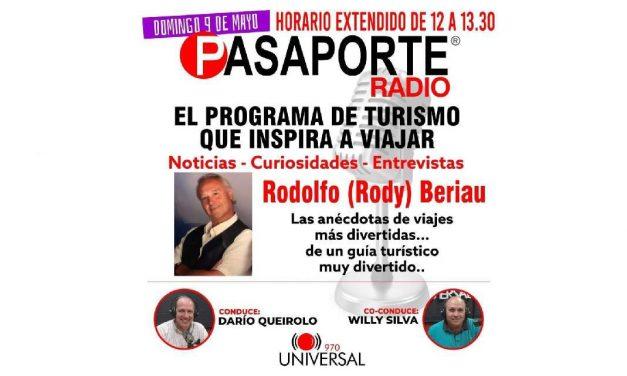 Bienvenidos al sexto programa de Pasaporte Radio – 9 de mayo de 2021