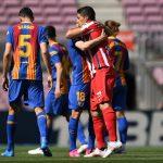 Barcelona y Atlético Madrid empataron sin goles en el Camp Nou