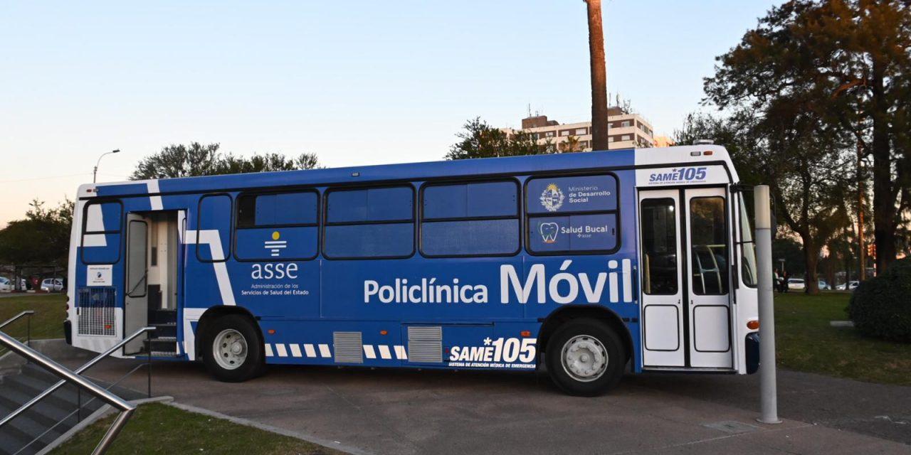 Mides y ASSE inauguraron el primer policlínico móvil para personas en situación de calle
