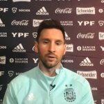 Messi sueña con conseguir un título con Argentina
