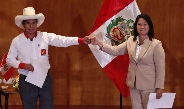 Elecciones Perú 2021: la carrera por la banda presidencial entre Pedro Castillo y Keiko Fujimori