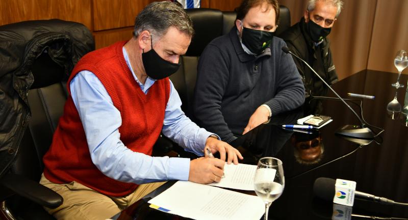 Intendencia de Canelones y ADEOM firmaron nuevo acuerdo, con primera presupuestación en 10 años