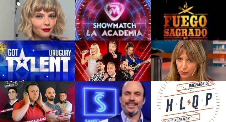 ¿Quién ganó entre Fuego Sagrado, Got Talent Uruguay, La Voz y Showmatch? Además, histórico programa uruguayo deja de emitirse