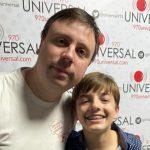 Joaquín Larrea: El periodista y analista deportivo más joven de Uruguay
