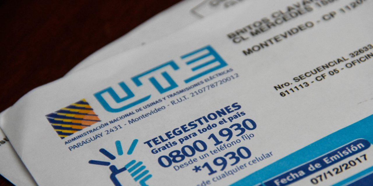 UTE anunció beneficio de $2.022 para compra de electrodomésticos