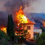 El volcán en Palma generó al evacuación de 6 mil personas y destruyó 166 casas