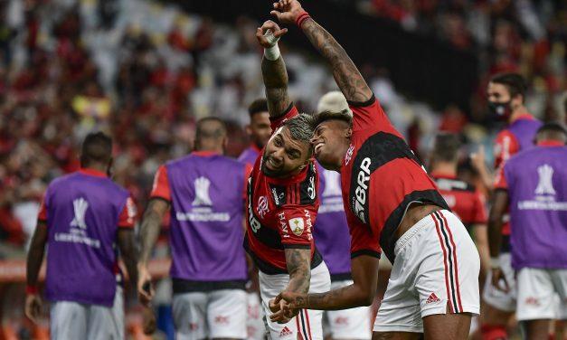 Flamengo venció a Barcelona en la ida