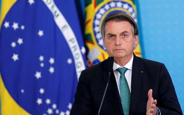 Las calles de Brasil se vistieron de blanco contra Bolsonaro