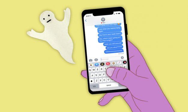 Ghostear: El término de la crueldad romántica que está de moda pero siempre existió