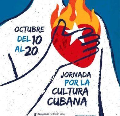 Cuba celebra una nueva edición de la Jornada por la Cultura Cubana