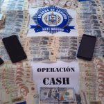 Policía desarticuló tres bocas de droga en Soriano e incautó más de 200.000 pesos